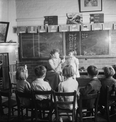 Ackmar Road School for Deaf Children: 1951