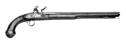 Flintlock holster pistol: c.1808
