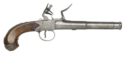 Flintlock pistol: c. 1741