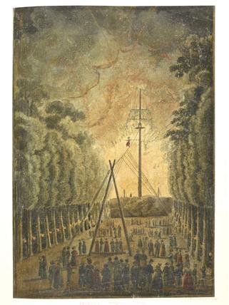 Madam Saqui Descending: c.1816