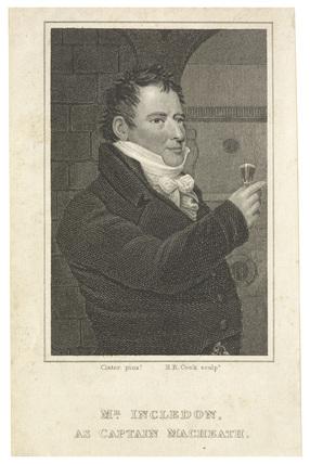 Mr Incledon as Captain Macheath: c.1830