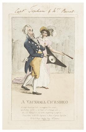 A Vauxhall Cicesbeo: 1805
