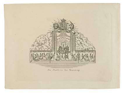 The Platform for Dancing: c.1830