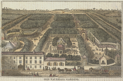 Old Vauxhall Gardens: 1830
