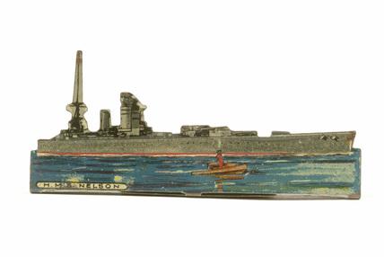 Tinplate warship, HMS Nelson; 1914-1918