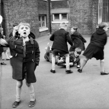 Boys in the playground: c.1962