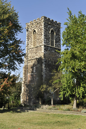 St. Mary's Tower in Hornsey; 2009