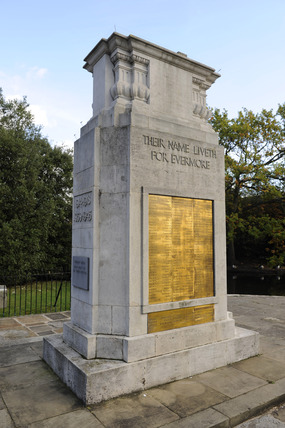 Carshalton War Memorial; 2009