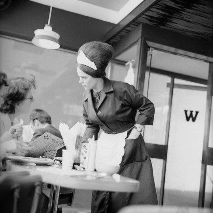 A Wimpy Waitress: 1964