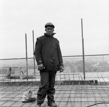 A builder in Mile End: 1960