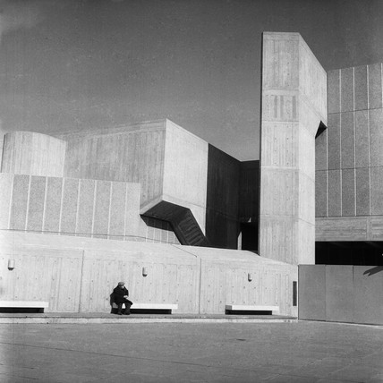 Queen Elizabth Hall, Southbank Centre: c.1970