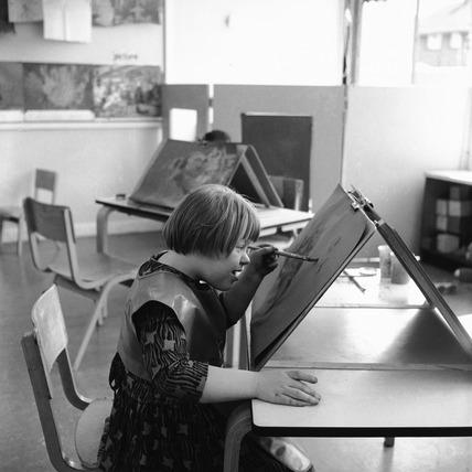 Junior art lesson: 1965