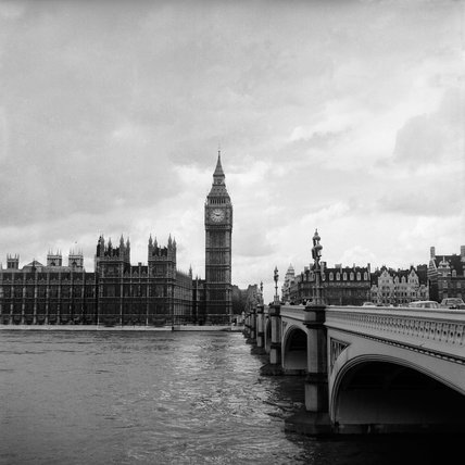 Big Ben and the Houses of Parliament: c.1970