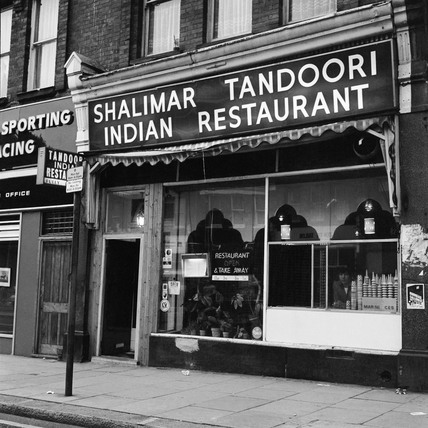 The Shalimar Tandoori Indian restaurant. c.1965