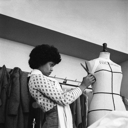 Dressmaking student: 1974