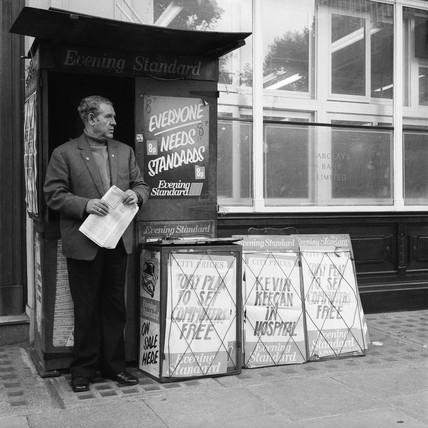 Newspaper Stand: 1977