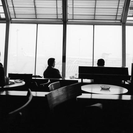 A window in Heathrow's Terminal 1: 1969