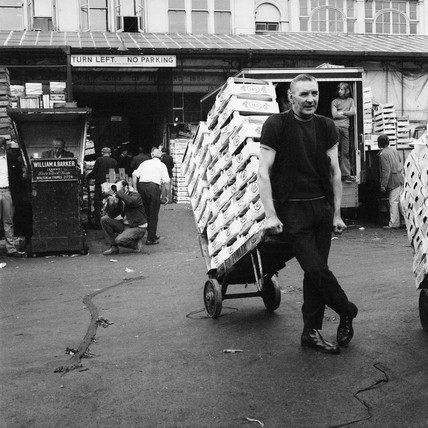 Covent Garden porter: 1974