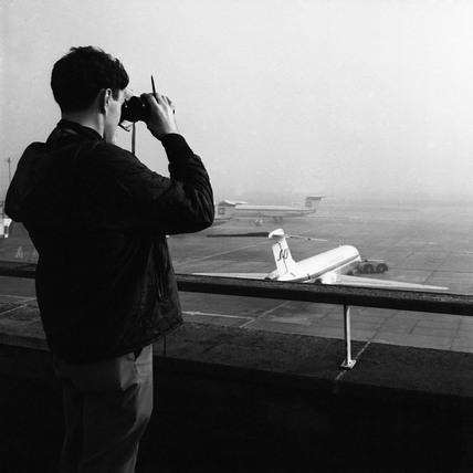 A plane spotter: 1969