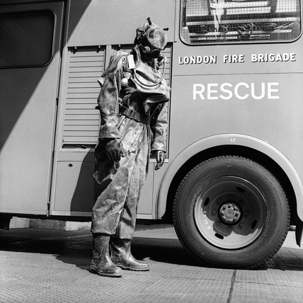 A fireman in the London Fire Brigade: 1976