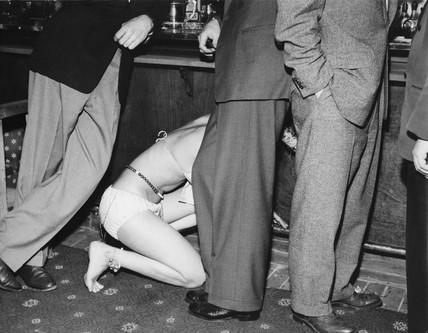 London nightclub scene: c.1955