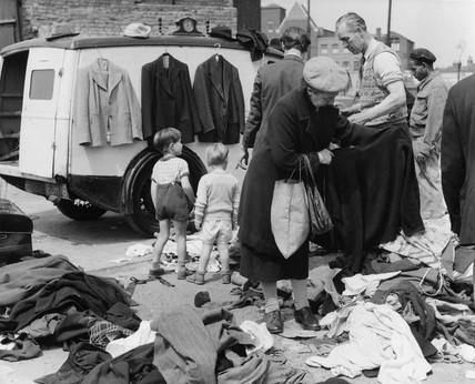 East End market:c.1948