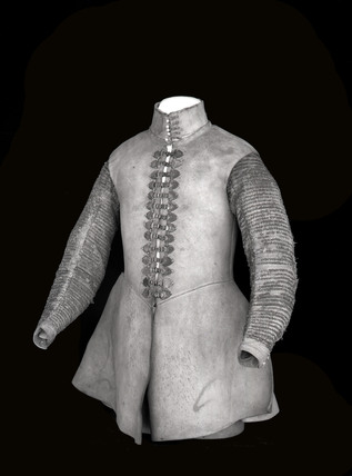 Buff leather coat: c. 1630