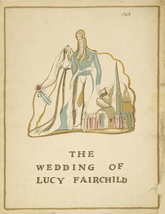 The Wedding of Lucy Fairchild; 1928