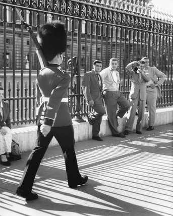 The Changing of the Guard at Buckingham Palace: c. 1955