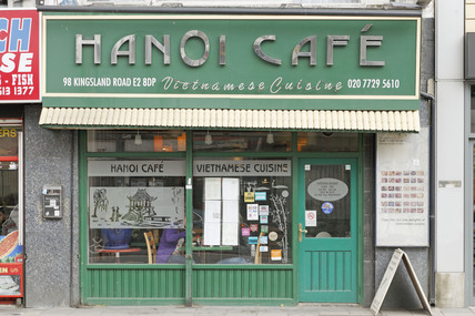 Hanoi Cafe Kingsland Road; 2009