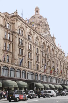 Harrods department store; 2009