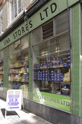 Lina Stores in Soho; 2009