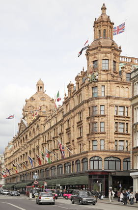 Harrods department store; 2009