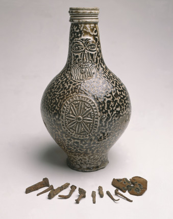 Post Medieval Bellarmine jar