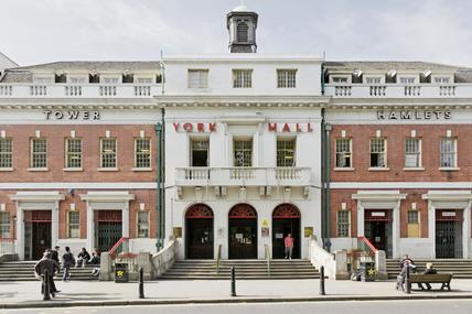 York Hall; 2009