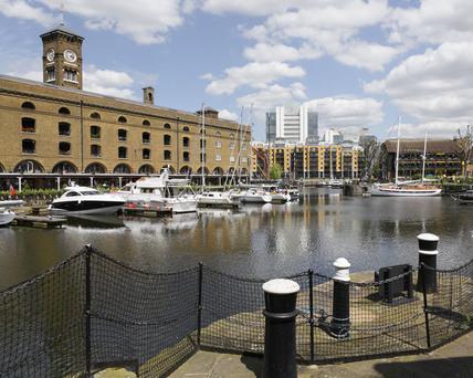 St. Katharine's Dock; 2009