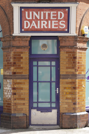 United Dairies building; 2009