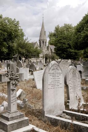 Walthamstow Cemetery; 2009