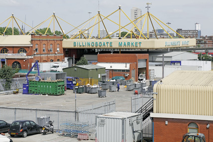 New Billingsgate Fsh Market; 2009