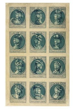 Coeffure a la Polimme: 1781