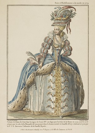 Suite d'habillemens a la mode en 1779