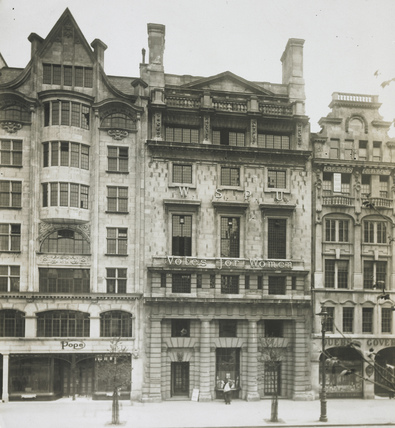 WSPU's London headquarters: 1912