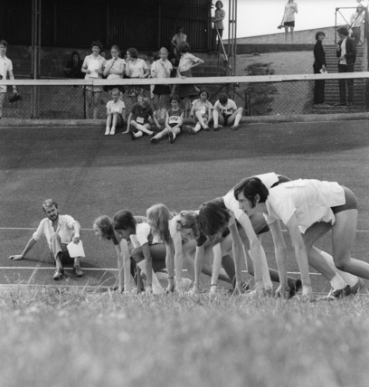 Athletics at Crystal Palace: c.1963