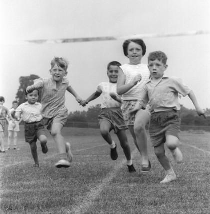 School sports day; 1961