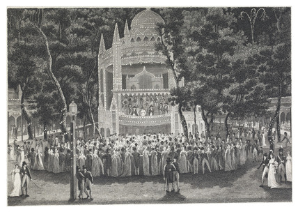 Vauxhall on a Gala Night, June 11th.1804