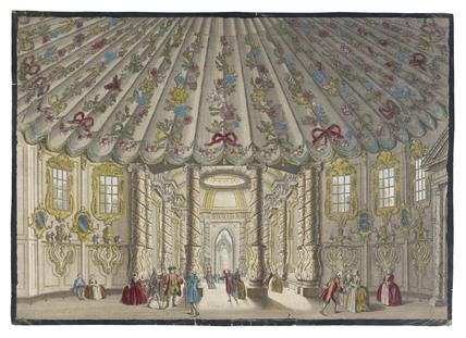 Vauxhall Gardens Music Room: c.1770