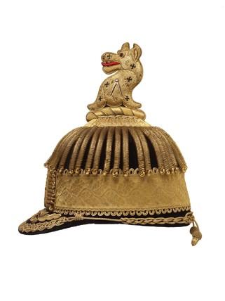 Postillion's cap: 1863-1864