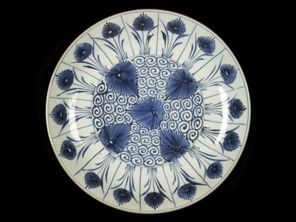 Porcelain dish: c. 1662-1722