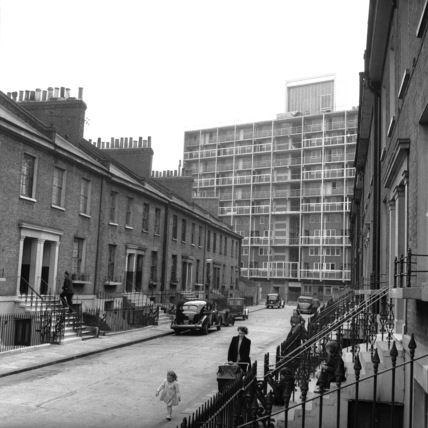The Elmington Estate, Picton Street; 1956