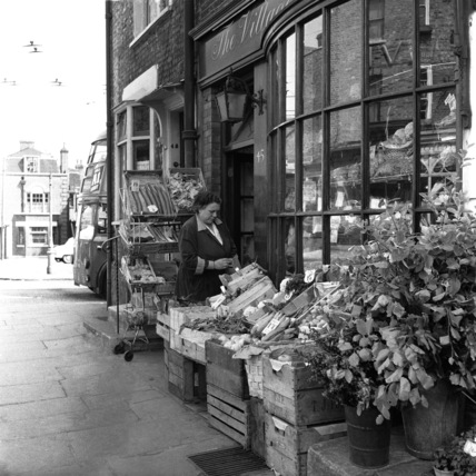 Highgate Village store; 1956